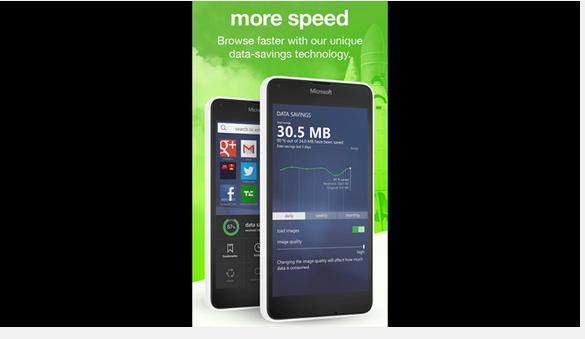 Opera Mini para Windows 10 Mobile