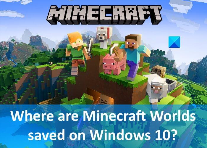 Donde Minecraft Worlds salvó Windows 10