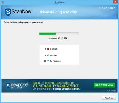 Escaneo ScanNow