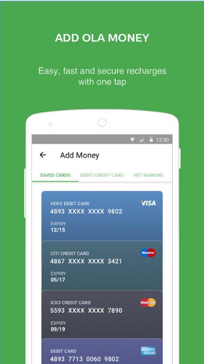 billetera móvil ola money