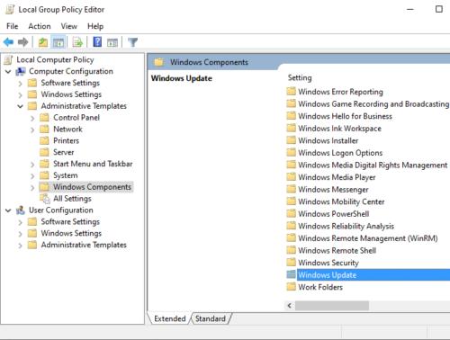 Reparar el código de error de los servicios de actualización de Windows Server 0x80072EE6 Paso 3