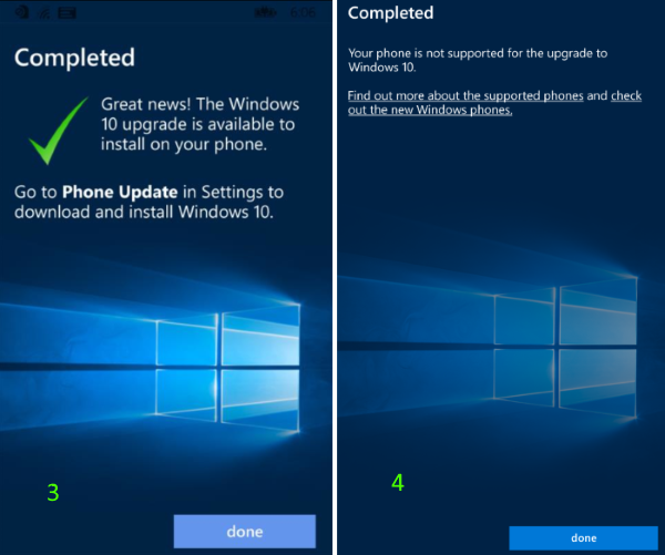 actualizar Windows Phone 8.1 a Windows 10 Mobile