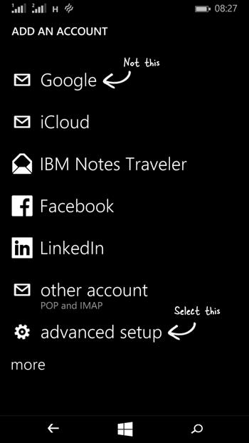 Reparar el error 80040902 y 80082F30 en Windows Phone 8.1-4