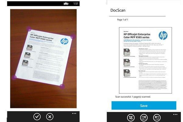 Aplicación HP Print 2