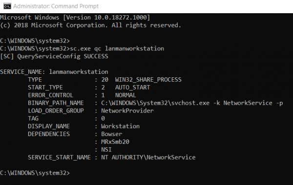 Cómo verificar la versión SMB en Windows