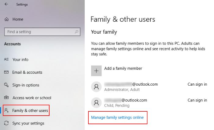 sin botón de quitar Microsoft cuenta 2