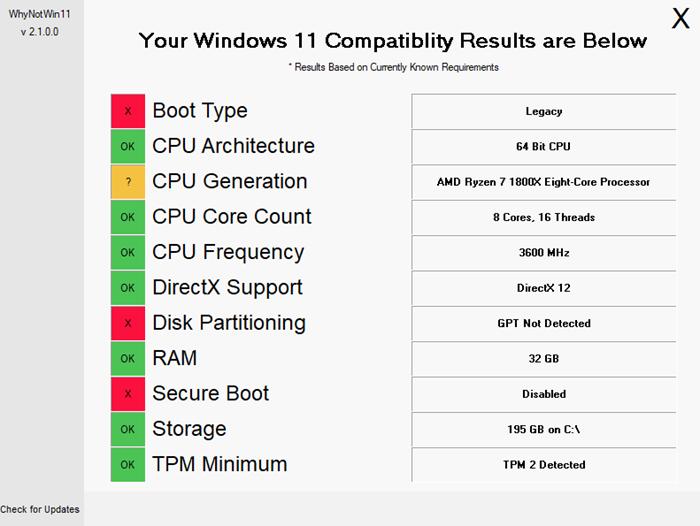 ¿Por qué mi PC no es compatible con Windows 11?