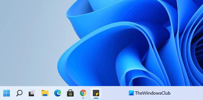 mover el menú de inicio de Windows 11 al lado izquierdo