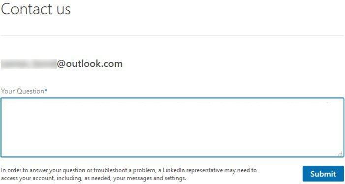 Consejos de seguridad y privacidad de inicio de sesión de LinkedIn