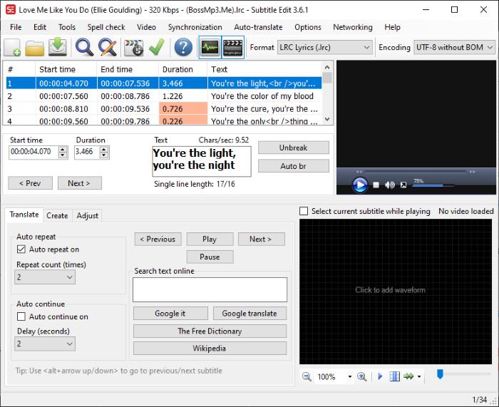 ¿Cuál es el archivo LRC?  ¿Cómo crear un archivo LRC en Windows 11/10?