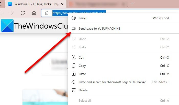 Cómo enviar pestañas a otros dispositivos con Microsoft Edge