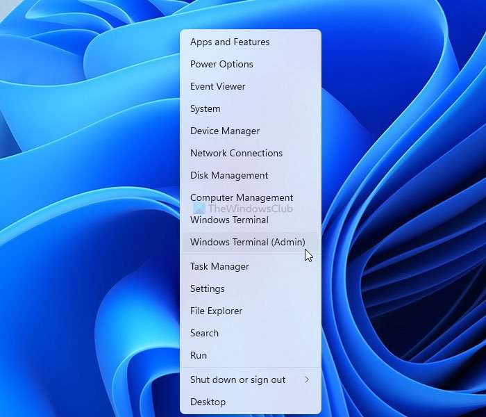 Cómo abrir la Terminal de Windows como administrador en Windows 11