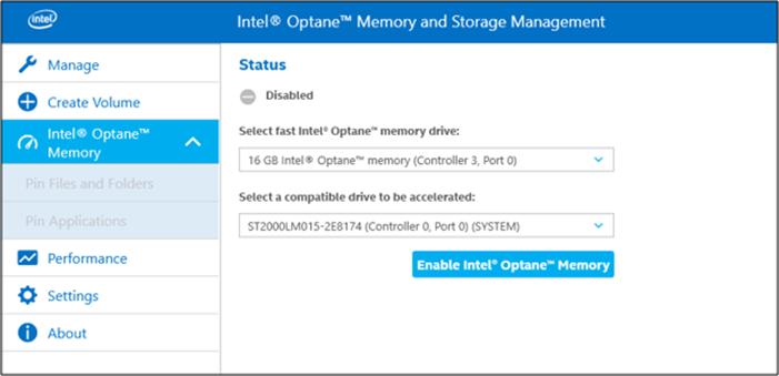 gestión de memoria intel optimizar el rendimiento
