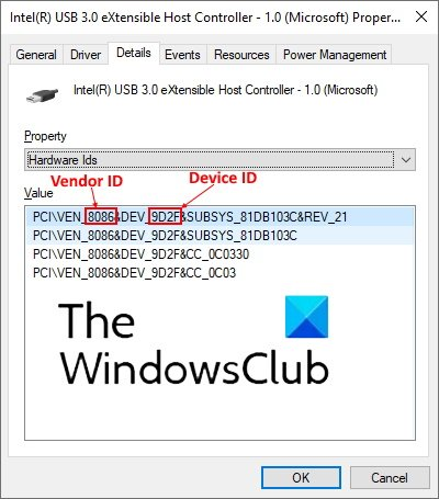 identificar dispositivo USB desconocido