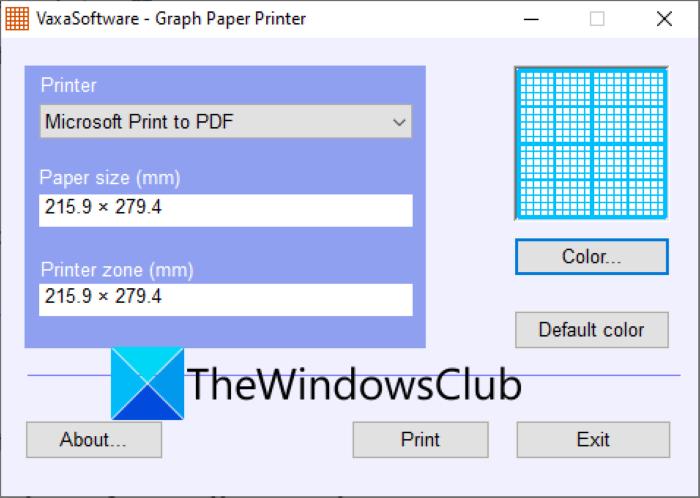 Cómo hacer papel cuadriculado en Windows 11/10