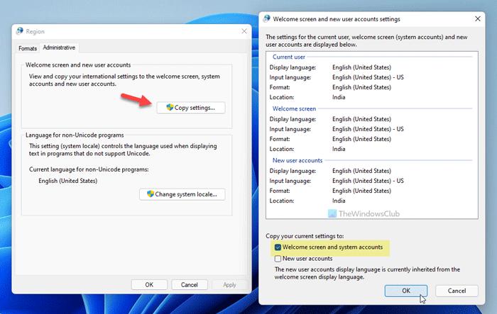 Cómo cambiar el formato del reloj de la pantalla de bloqueo en Windows 11/10