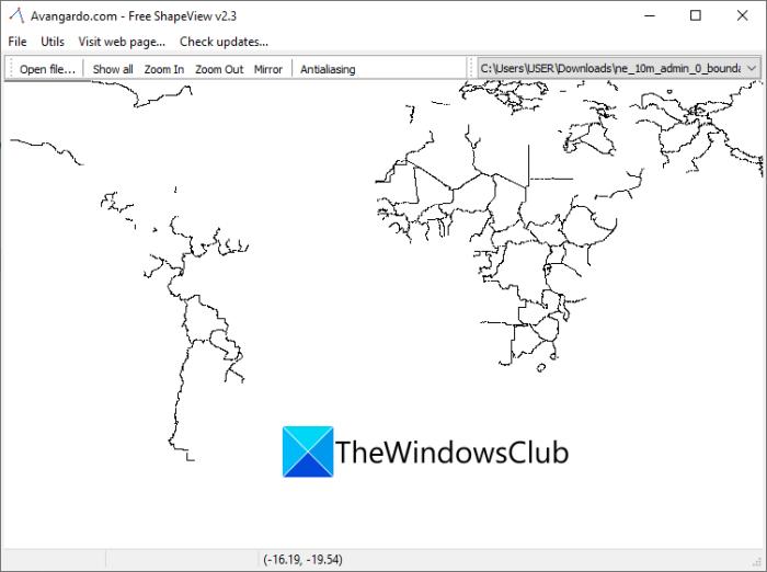 ¿Qué es Shapefile?  Cómo ver un archivo Shapefile en Windows 11/10