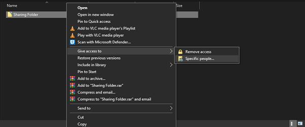 Comparta archivos entre computadoras usando LAN