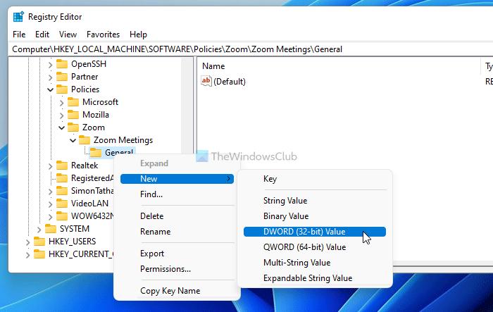 Cómo habilitar o deshabilitar la actualización automática de Zoom usando la Política de grupo y el Registro