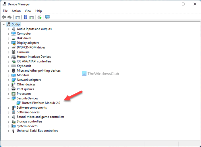 La PC debe admitir TPM 2.0