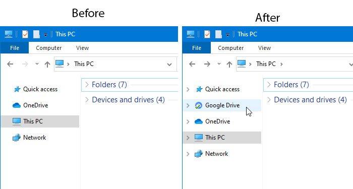 Cómo agregar Google Drive al Explorador de archivos