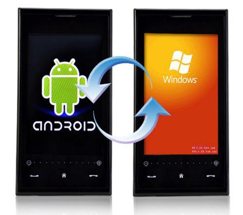 cambiar de un teléfono con Windows a un teléfono con Android