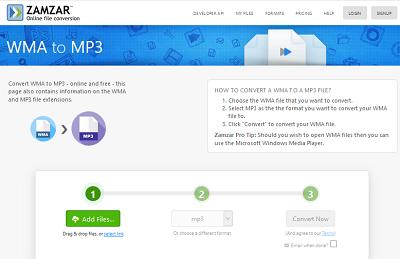 Convierta WMA a MP3