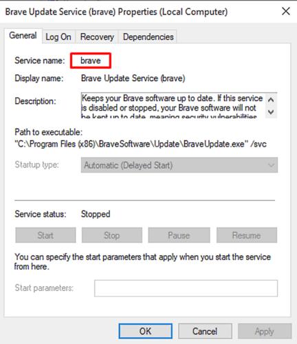 Eliminar un servicio en Windows 10