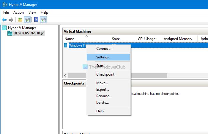 Cómo habilitar TPM en Hyper-V para instalar Windows 11