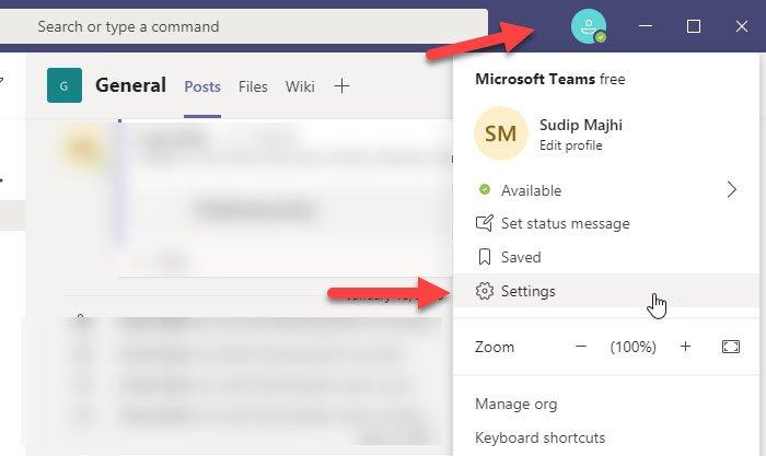 Habilitar el modo oscuro en Microsoft Teams