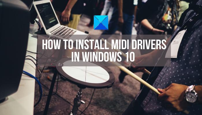 Cómo instalar controladores MIDI en Windows 10