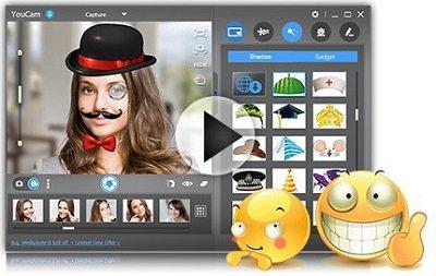 Software de cámara web YouCam para Windows 10