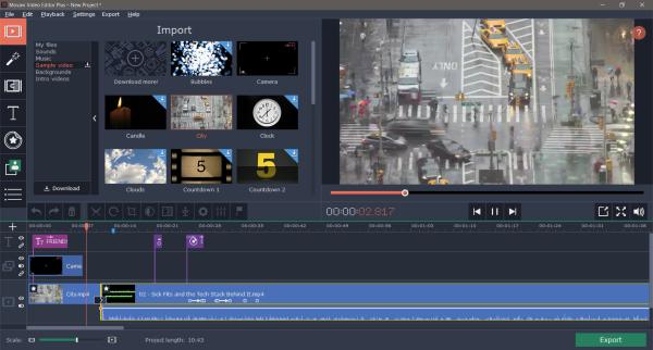 Revisión de Movavi Video Editor Plus