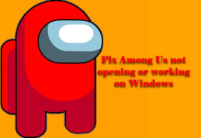 Entre nosotros no funciona o no se abre en Windows