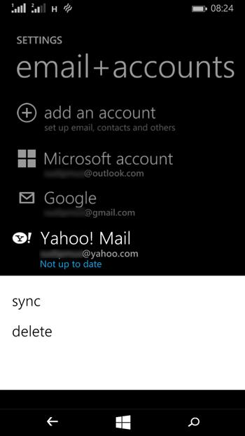 Reparar el error 80040902 y 80082F30 en Windows Phone 8.1-3
