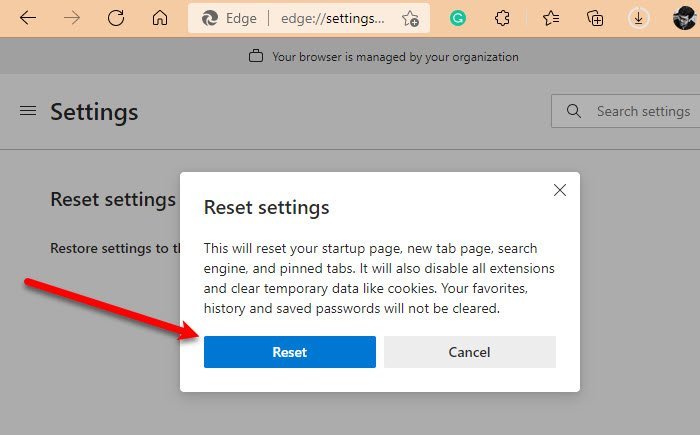 Microsoft Edge se bloquea o se bloquea al abrir un PDF