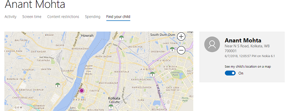 Rastree la ubicación de los niños y monitoree el uso de la aplicación