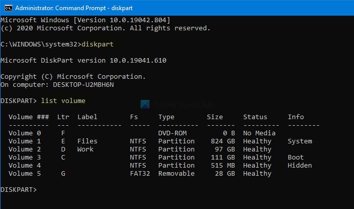 Windows no puede formatear la partición del sistema en este disco