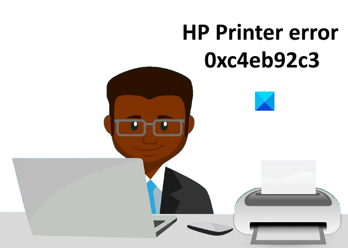 Solucionar el error 0xc4eb92c3 de la impresora HP